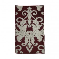 Soft Decorative Mat for Living Room, Bedroom, Bathroom and Kitchen - Elegant - Red - 20 x 32 inch (51 x 82 cm)