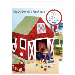 K0125 Barn Playhouse (size: One Size Only)
