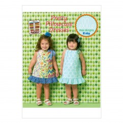 K0169 Toddlers' Dresses (size: All Sizes In One Envelope)