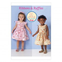 K0192 Toddlers' Dresses (size: T1 - T4)