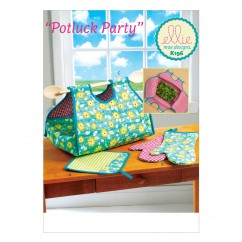 K0196 Potholder, Mitts, and Casserole Carrier (size: One Size Only)