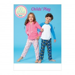 K0251 Girl's and Boys Top and Pants (size: XXS-XS-S-M-L)