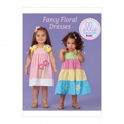 K0262 Toddlers' Dresses' (size: All Sizes in One)
