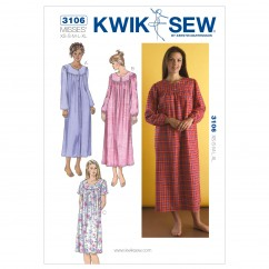 K3106 Nightgowns (size: XS-S-M-L-XL)