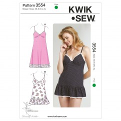 K3554 Slips and Panties (size: XS-S-M-L-XL)