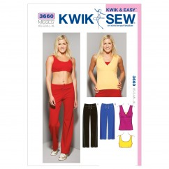 K3660 Top, Bra & Pants (size: XS-S-M-L-XL)
