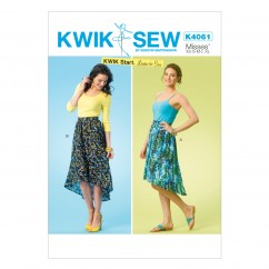 K4061 Misses' Skirts (size: All Sizes In One Envelope)