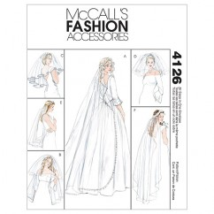 M4126 Bridal Veils (size: One Size Only)