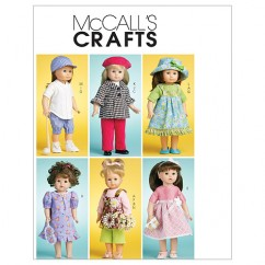 """M6137 Doll Clothes For 18"""" (46cm) Doll (size: One Size Only)"""