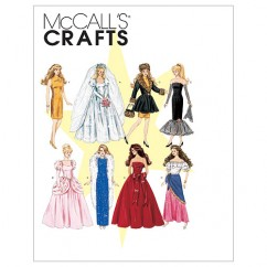 M6232 Fashion Doll Clothes (size: One Size Only)