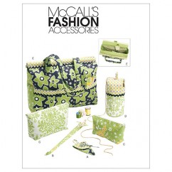 M6256 Project Tote, Organizer/Knitting Needle/Scissor Cases And Yarn Holder (size: One Size Only)
