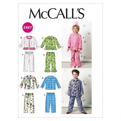 M6458 Toddlers'/Children's Tops and Pants (size: 1-2-3)