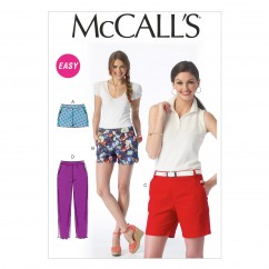 M6930 Misses' Shorts and Pants (size: 6-8-10-12-14)