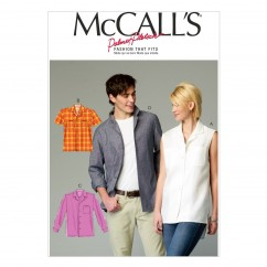 M6932 Misses'/Men's Shirts (size: XLG-XXL-XXXL)
