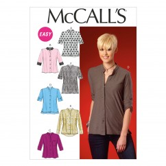 M7018 Misses' Tops and Tunic (size: 8-10-12-14-16)