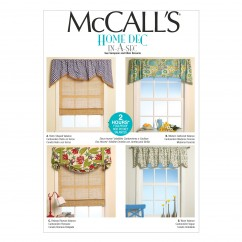 M7034 Window Treatments (size: All Sizes In One Envelope)