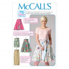 M7129 Misses' Skirts (size: 8-10-12-14-16)