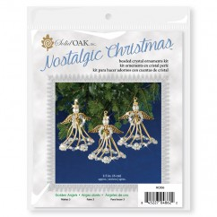 Beaded Ornament Kit - Golden Angels