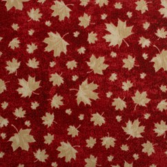 Northcott - STONE HENGE OH CANADA - Maple leaf - Red