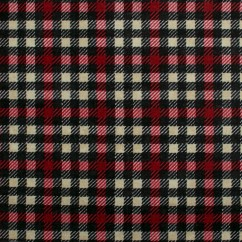 Northcott - STONE HENGE OH CANADA - Plaid - Red / Black