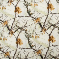 In the Woods Cotton Print - Branchs - Ivory