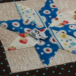 """Brother 1/4"""" Quilting Foot"""