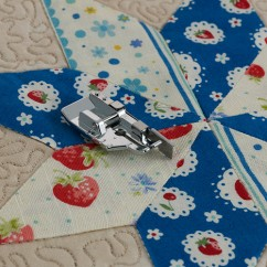 """Brother 1/4"""" Piecing Foot with Guide"""