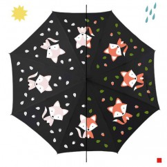 Children's Color Changing Umbrella Fox