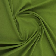 ORGANIC Cotton Lycra Solid Knit - Green