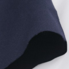 2 x 2 Rib Tubular Knit - Navy