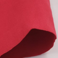 2 x 2 Rib Tubular Knit - Red