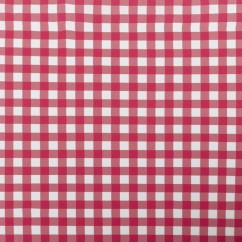 Bathing Suit Print - Check - Red / White