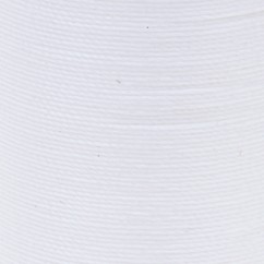 COATS COTTON COVERED BOLD HAND QUILT THREAD  160M/175YD - WHITE