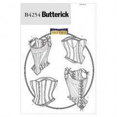 B4254 Misses' Stays and Corsets (size: 6-8-10)