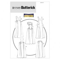 B5509 Aprons (size: All Sizes In One Envelope)