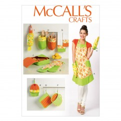 M6978 Apron and Kitchen Accessories (size: All Sizes In One Envelope)