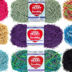 Red Heart Scrubby 100g