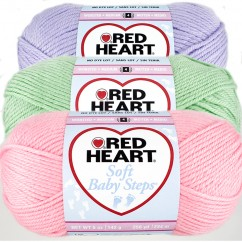 RED HEART SOFT BABY STEPS 141G