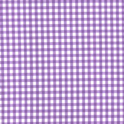 """Gingham Check - Lilac 1/4"""""""