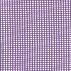 Gingham Check - Lilac 1/8''
